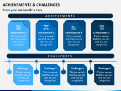 Achievements and Challenges PPT Slide 2