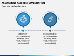 Assessment and Recommendation PPT Slide 6