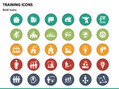 Training Icons PPT Slide 3