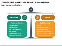 Traditional Marketing Vs Digital Marketing PPT Slide 2