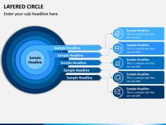 Layered Circle PPT Slide 6