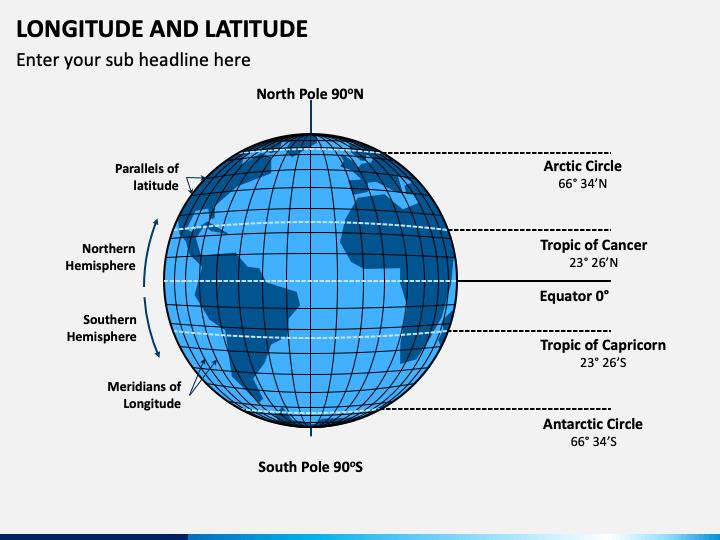 Longitude and Latitude PPT Slide 1