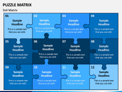 Puzzle Matrix PPT Slide 5