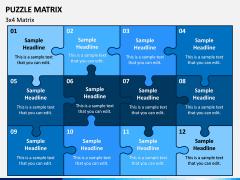 Puzzle Matrix PPT Slide 5
