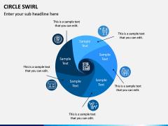 Circle Swirl PPT Slide 8