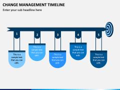 Change Management Timeline PPT Slide 2