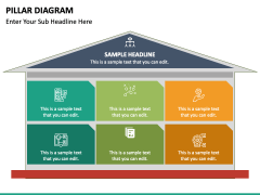 Pillar Diagram Free PPT Slide 2