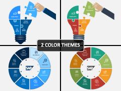 SAP Implementation PPT Cover Slide
