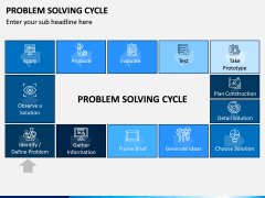 Problem Solving Cycle PPT Slide 1
