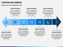 Continuum Arrow PPT Slide 3