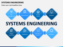 Systems Engineering PPT Slide 1