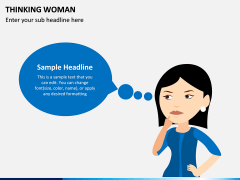 Thinking Woman PPT Slide 6