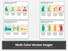 investigator Icons Multicolor Combined