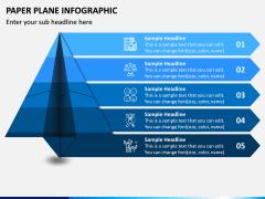 Paper Plane Infographic PPT Slide 1