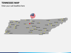 Tennessee Map PPT Slide 3