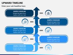 Upward Timeline PPT Slide 2