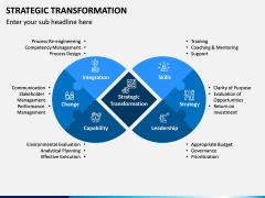 Strategic Transformation PPT Slide 1