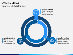 Layered Circle PPT Slide 4