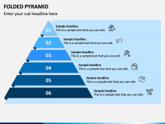 Folded Pyramid PPT Slide 9