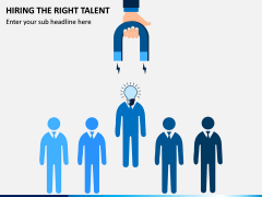 Hiring The Right Talent PPT Slide 1