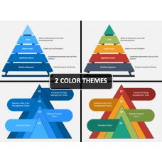 Crisis Management Pyramid PPT Cover Slide