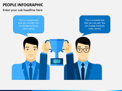 People Infographic PPT Slide 8