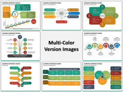Learning Experience Design Multicolor Combined