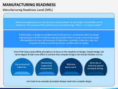Manufacturing Readiness PPT Slide 3