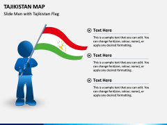 Tajikistan Map PPT Slide 4