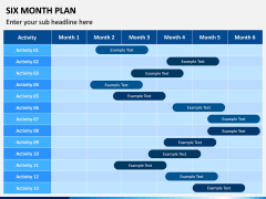 Six Month Plan PPT Slide 3