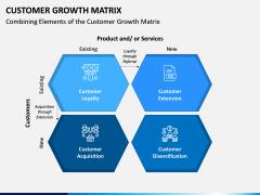 Customer Growth Matrix PPT Slide 3