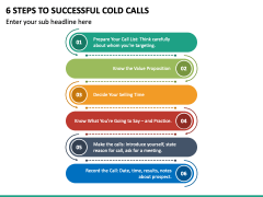 6 Steps To Successful Cold Calls PPT Slide 2