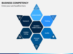 Business Competency PPT Slide 1