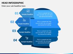 Head Infographics PPT Slide 3