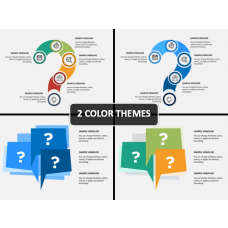 Question Infographics PPT Cover Slide