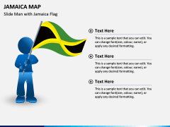 Jamaica Map PPT Slide 4