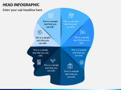Head Infographics PPT Slide 4