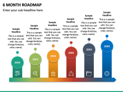 6 Month Roadmap PPT Slide 2