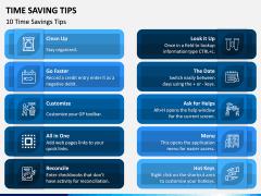 Time Saving Tips PPT Slide 2