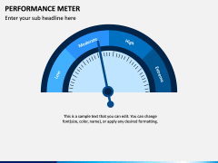 Performance Meter PPT Slide 5