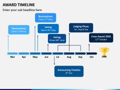Award Timeline PPT Slide 1