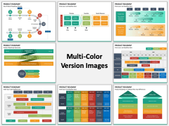 Product Roadmap Multicolor Combined