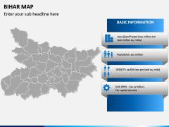 Bihar Map PPT Slide 3