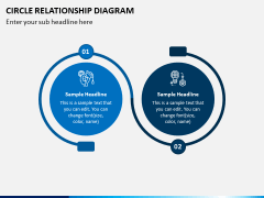Circle Relationship Diagram PPT Slide 1