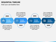 Sequential Timeline PPT Slide 5