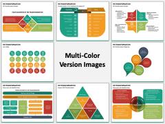 HR Transformation Multicolor Combined