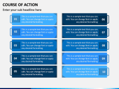 Course of Action PPT Slide 10