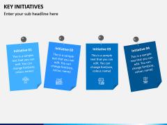 Key Initiatives PPT Slide 9