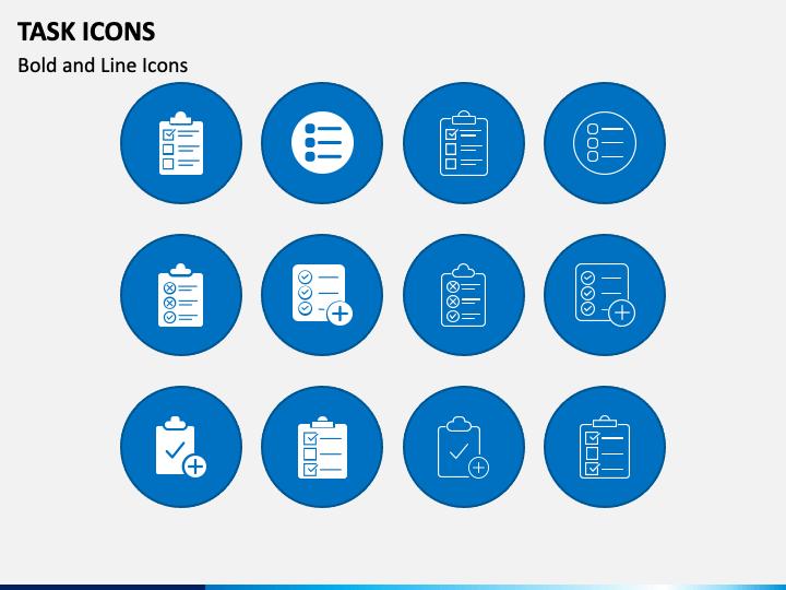 Task Icons Slide 1
