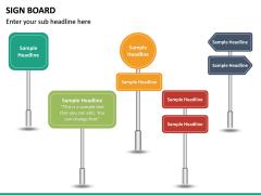 Sign Board PPT Slide 15